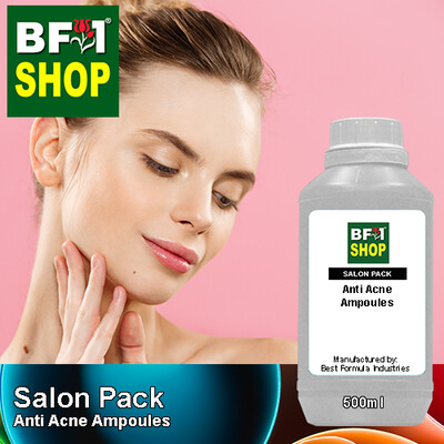 Salon Pack - Anti Acne Ampoules - 500ml