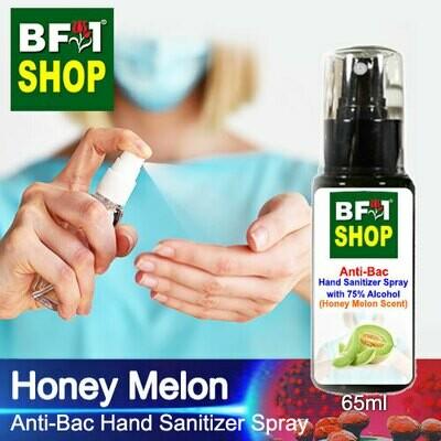 Anti-Bac Hand Sanitizer Spray with 75% Alcohol (ABHSS) - Honey Melon - 65ml