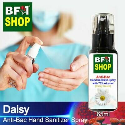 Anti-Bac Hand Sanitizer Spray with 75% Alcohol (ABHSS) - Daisy - 65ml