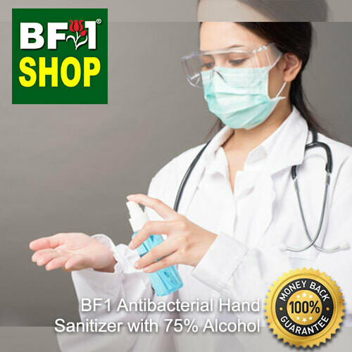 Anti-Bac Hand Sanitizer Spray with 75% Alcohol (ABHSS) - Plain - 65ml