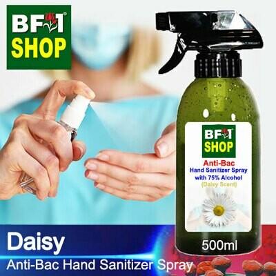 Anti-Bac Hand Sanitizer Spray with 75% Alcohol (ABHSS) - Daisy - 500ml
