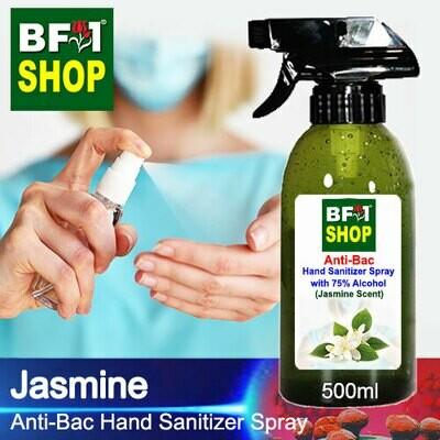 Anti-Bac Hand Sanitizer Spray with 75% Alcohol (ABHSS) - Jasmine - 500ml