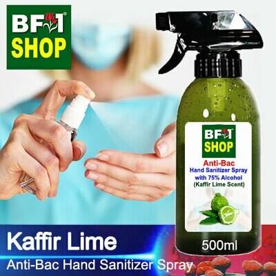 Anti-Bac Hand Sanitizer Spray with 75% Alcohol (ABHSS) - lime - Kaffir Lime - 500ml