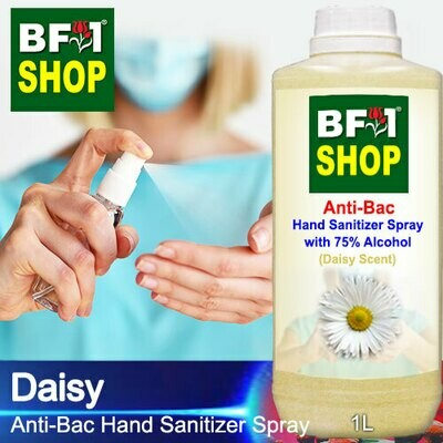 Anti-Bac Hand Sanitizer Spray with 75% Alcohol (ABHSS) - Daisy - 1L