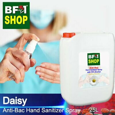 Anti-Bac Hand Sanitizer Spray with 75% Alcohol (ABHSS) - Daisy - 25L