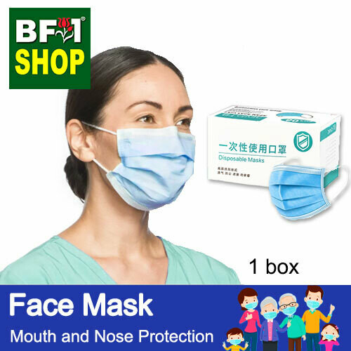 Face Mask - Mouth and Nose Protection - 1box - 50pc/box