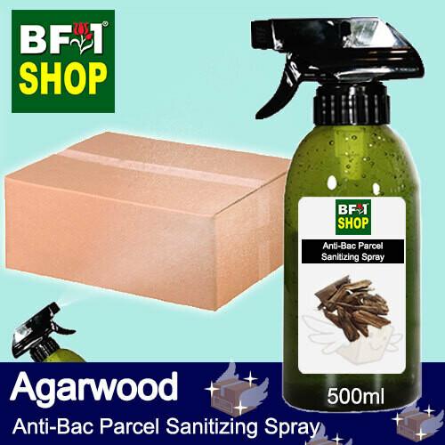 Anti-Bac Parcel Sanitizing Spray (ABPS) - Agarwood - 500ml