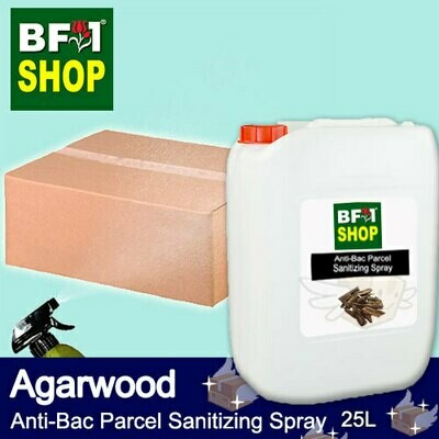 Anti-Bac Parcel Sanitizing Spray (ABPS) - Agarwood - 25L