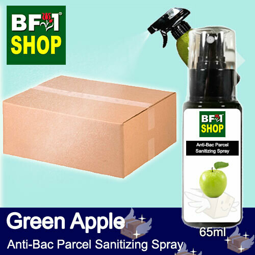 Anti-Bac Parcel Sanitizing Spray (ABPS) - Apple - Green Apple - 65ml
