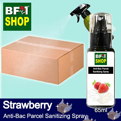 Anti-Bac Parcel Sanitizing Spray (ABPS) - Strawberry - 65ml