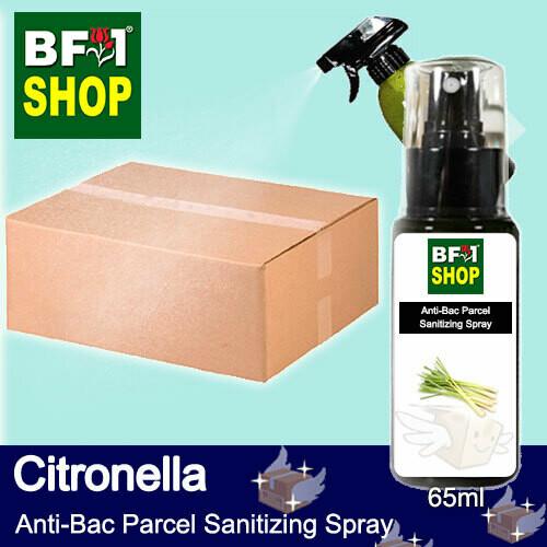 Anti-Bac Parcel Sanitizing Spray (ABPS) - Citronella - 65ml