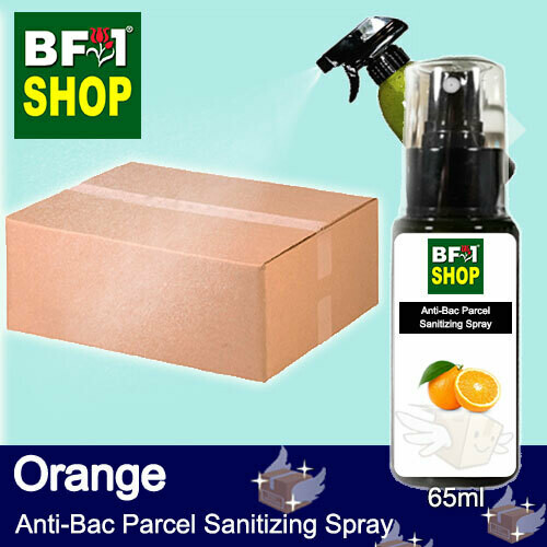 Anti-Bac Parcel Sanitizing Spray (ABPS) - Orange - 65ml