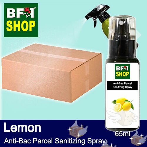 Anti-Bac Parcel Sanitizing Spray (ABPS) - Lemon - 65ml
