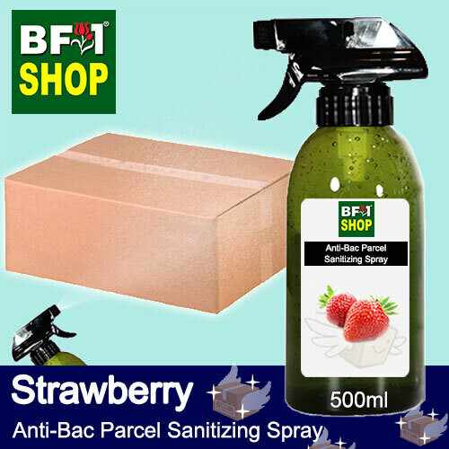 Anti-Bac Parcel Sanitizing Spray (ABPS) - Strawberry - 500ml