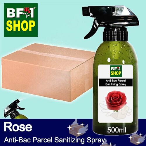 Anti-Bac Parcel Sanitizing Spray (ABPS) - Rose - 500ml