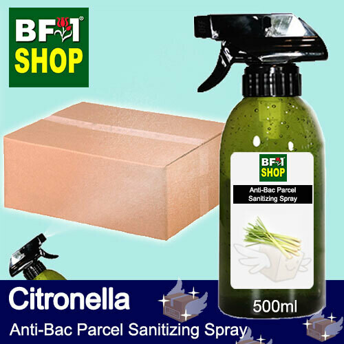 Anti-Bac Parcel Sanitizing Spray (ABPS) - Citronella - 500ml
