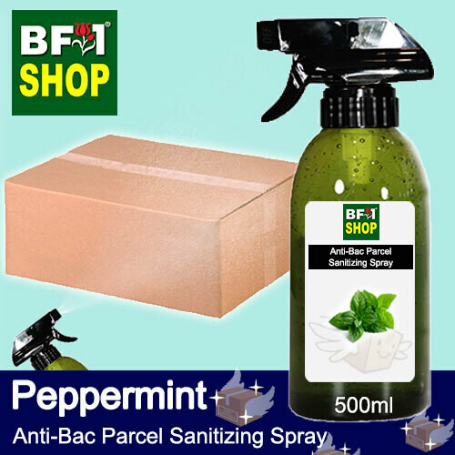 Anti-Bac Parcel Sanitizing Spray (ABPS) - mint - Peppermint - 500ml