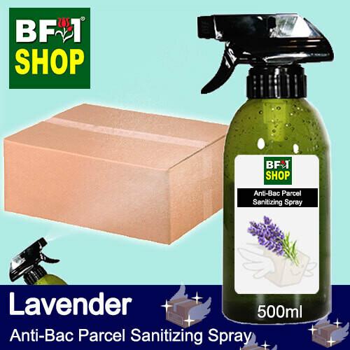 Anti-Bac Parcel Sanitizing Spray (ABPS) - Lavender - 500ml