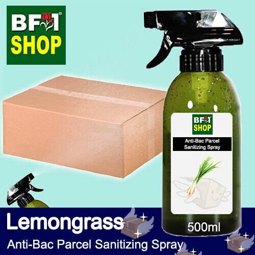 Anti-Bac Parcel Sanitizing Spray (ABPS) - Lemongrass - 500ml
