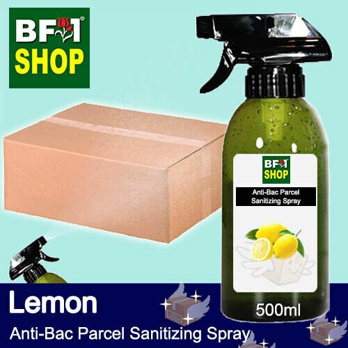 Anti-Bac Parcel Sanitizing Spray (ABPS) - Lemon - 500ml