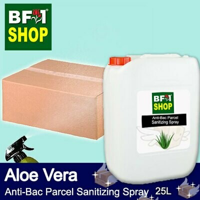 Anti-Bac Parcel Sanitizing Spray (ABPS) - Aloe Vera - 25L