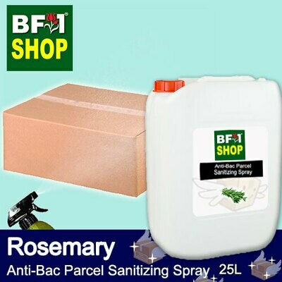 Anti-Bac Parcel Sanitizing Spray (ABPS) - Rosemary - 25L