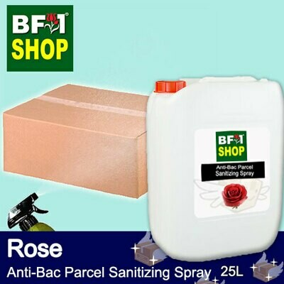 Anti-Bac Parcel Sanitizing Spray (ABPS) - Rose - 25L