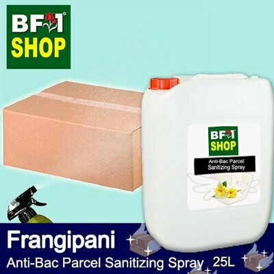 Anti-Bac Parcel Sanitizing Spray (ABPS) - Frangipani - 25L