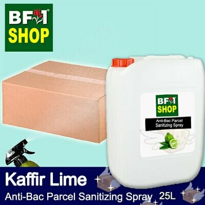Anti-Bac Parcel Sanitizing Spray (ABPS) - lime - Kaffir Lime - 25L