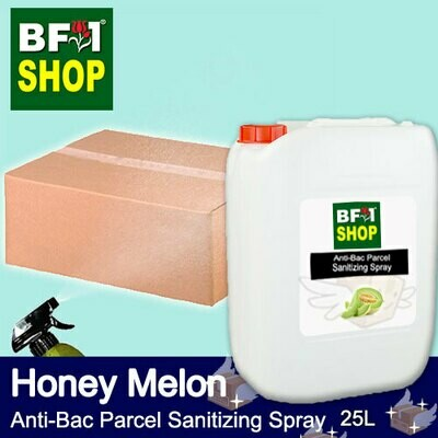 Anti-Bac Parcel Sanitizing Spray (ABPS) - Honey Melon - 25L