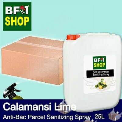 Anti-Bac Parcel Sanitizing Spray (ABPS) - lime - Calamansi Lime - 25L