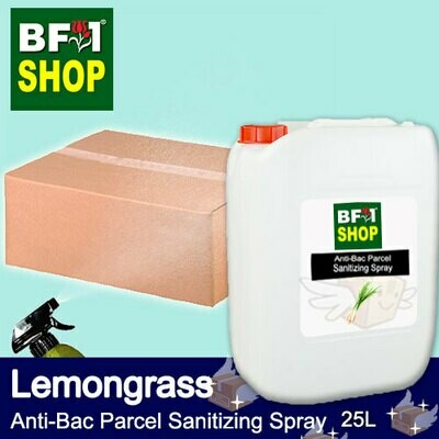 Anti-Bac Parcel Sanitizing Spray (ABPS) - Lemongrass - 25L