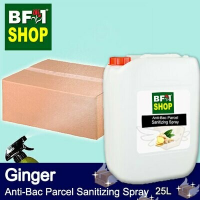 Anti-Bac Parcel Sanitizing Spray (ABPS) - Ginger - 25L
