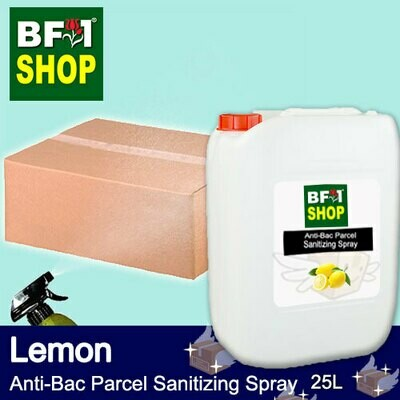 Anti-Bac Parcel Sanitizing Spray (ABPS) - Lemon - 25L
