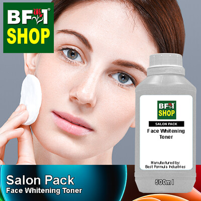 Salon Pack - Face Whitening Toner - 500ml