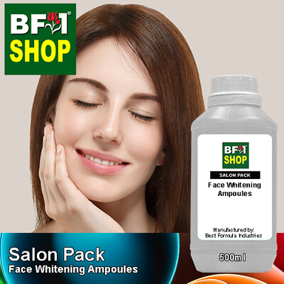 Salon Pack - Face Whitening Ampoules - 500ml