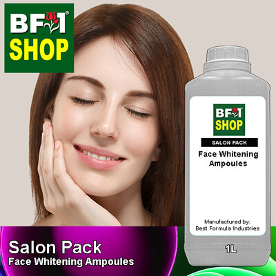Salon Pack - Face Whitening Ampoules - 1L