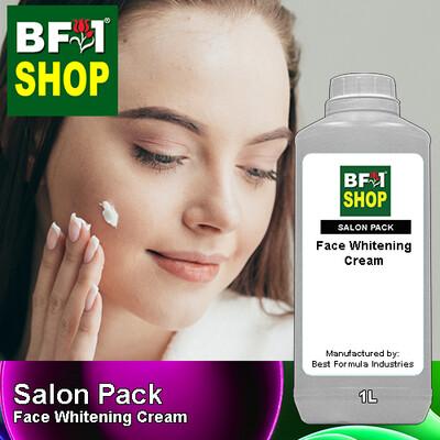 Salon Pack - Face Whitening Cream - 1L