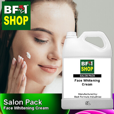 Salon Pack - Face Whitening Cream - 5L