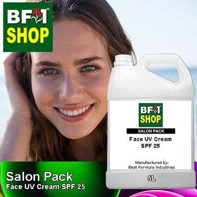 Salon Pack - Face UV Cream SPF 25 - 5L
