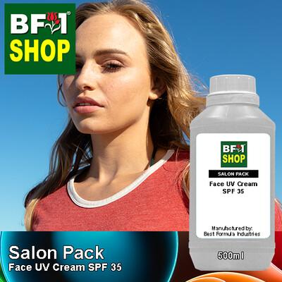 Salon Pack - Face UV Cream SPF 35 - 500ml