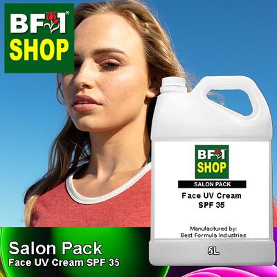 Salon Pack - Face UV Cream SPF 35 - 5L