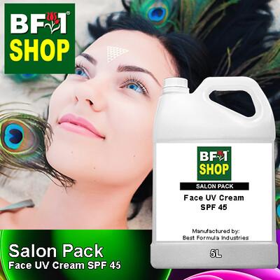 Salon Pack - Face UV Cream SPF 45 - 5L