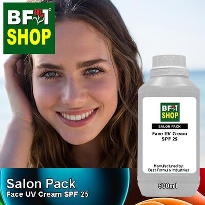 Salon Pack - Face UV Cream SPF 25 - 500ml
