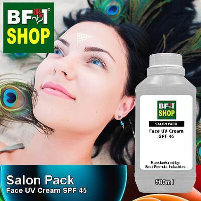 Salon Pack - Face UV Cream SPF 45 - 500ml