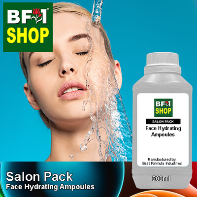Salon Pack - Face Hydrating Ampoules - 500ml