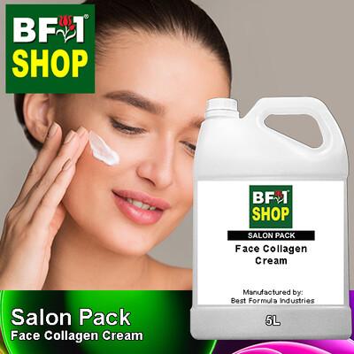 Salon Pack - Face Collagen Cream - 5L