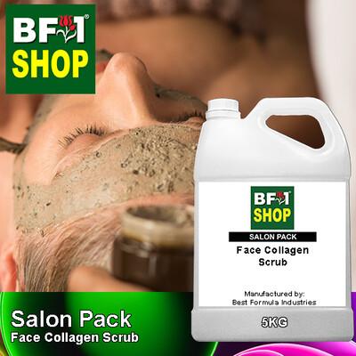 Salon Pack - Face Collagen Scrub - 5L