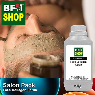 Salon Pack - Face Collagen Scrub - 500ml