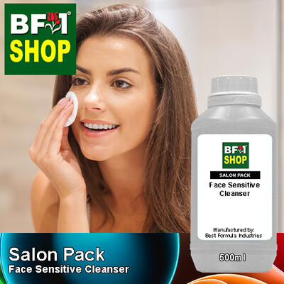 Salon Pack - Face Sensitive Cleanser - 500ml